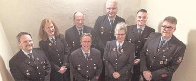 Foto zur Meldung: Neue Gesichter im Vorstand des Feuerwehrfördervereins