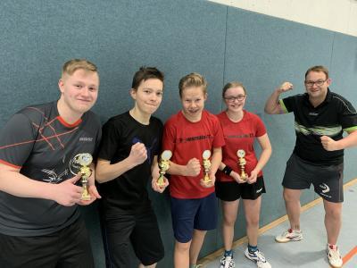 Vorschaubild zur Meldung: Tischtennis: Meisterschaft für zweite Jungen U18 in der Kreisklasse