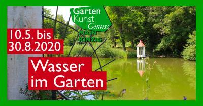 Vorschaubild zur Meldung: Wasser im Garten - GartenKunstGenuss Main-Kinzig