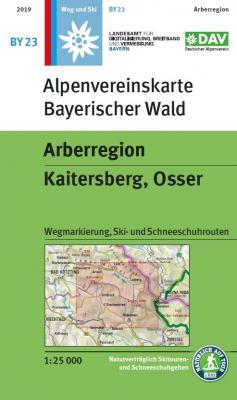 DAV Wanderkarte Cover