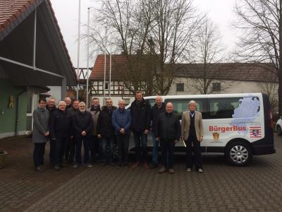 Foto zur Meldung: Bürgerbus Willingshausen rollt / Zwölf ehrenamtliche Fahrer