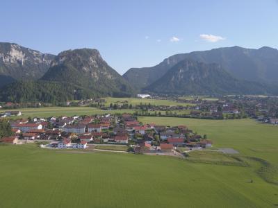 Inzell - sonniges Tal und Chiemgauer Alpen