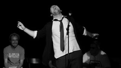 Foto zur Meldung: Poetry Slam im Stadttheater