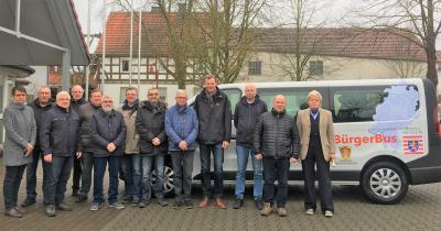 Foto zur Meldung: Bürgerbus Willingshausen startet durch