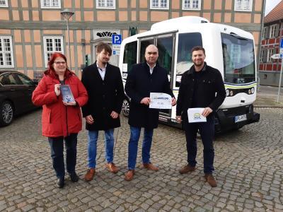 Foto zur Meldung: Und der Bus heißt...