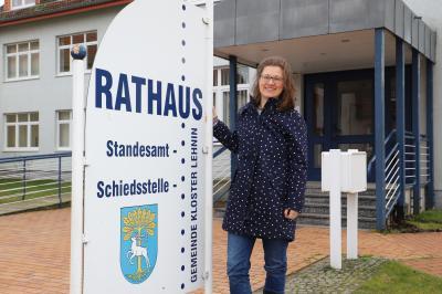 Vorschaubild zur Meldung: Kloster Lehnin hat jetzt eine Gleichstellungsbeauftragte