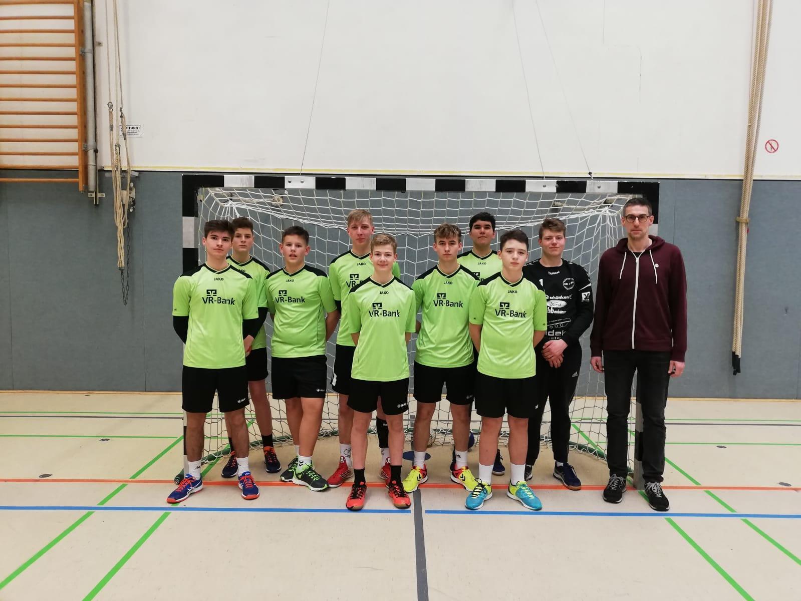 Bild der Meldung: Anne-Frank-Realschule wird 3. beim Handball Bezirksendrundenturnier