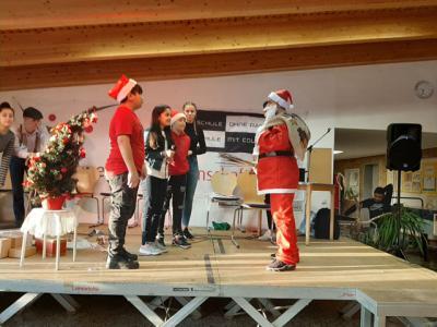 Foto zur Meldung: Am letzten Schultag vor den Weihnachtsferien wurde gefeiert!