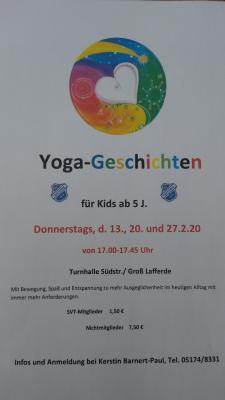 Vorschaubild zur Meldung: Yoga-Geschichten für Kinder, 3 er-Kurs ab 13.2.2020
