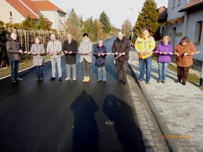 Vorschaubild zur Meldung: Bauarbeiten in der Bahnhofstraße Walddrehna beendet