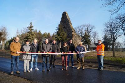 Vorschaubild zur Meldung: Friedhofsweg in Bornsdorf ist fertig