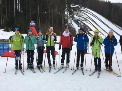 Foto zur Meldung: Deutscher Schülercup in Ruhpolding
