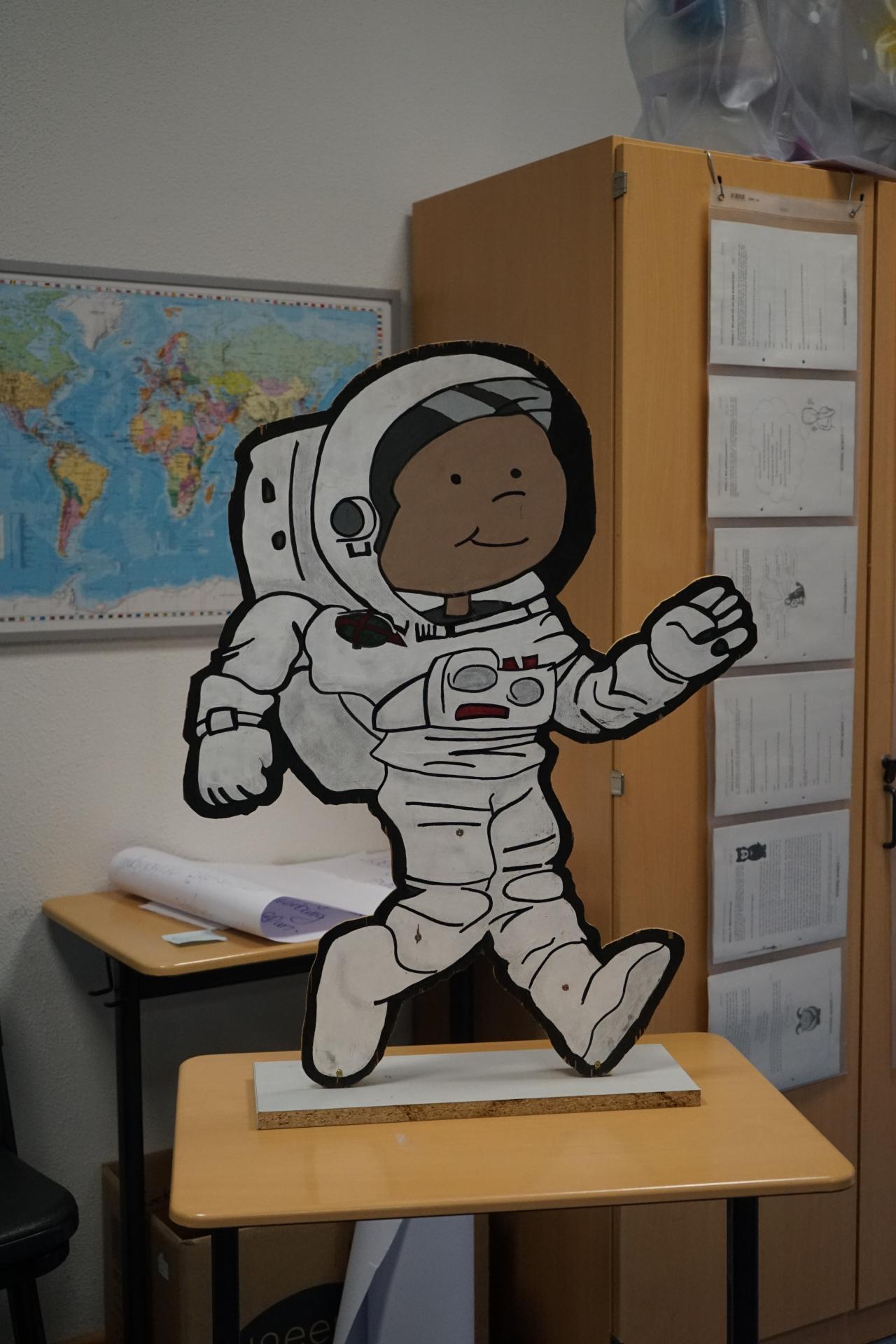 """Bild der Meldung: Jahrgangsteam """"Wann-AB-fit"""" geht ins Astronautentraining"""