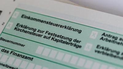 Foto zur Meldung: Formulare Einkommenssteuererklärung