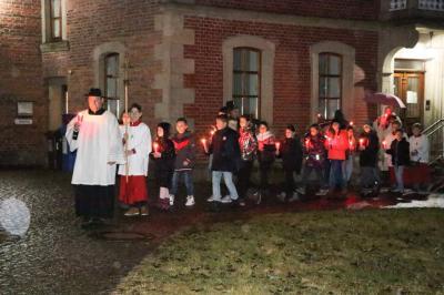 Foto zur Meldung: Lichtmess in der Pfarrgemeinde festlich gefeiert