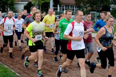 Start der Läuferinnen und Läufer beim Quakenbrücker Hase-Run 2019