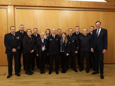 Foto zur Meldung: Freiwillige Feuerwehr Loshausen wählt neuen Vorstand
