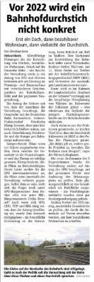Bericht Hellweger Anzeiger vom 06.02.2020