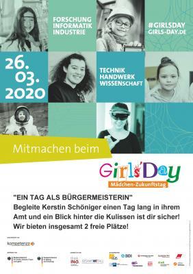 """Vorschaubild zur Meldung: """"Girls-Day"""" am 26.03.2020 im Rathaus Rodewisch"""