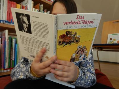 Foto zur Meldung: Kinderbuchklassiker-Projekt erlebte 4. Auflage in der BONA