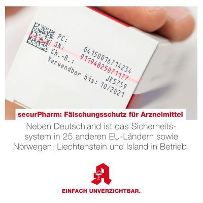 Bild der Meldung: securPharm: Zusätzliche Echtheitsprüfung bei Arzneimitteln seit einem Jahr im Einsatz