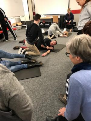 Vorschaubild zur Meldung: Übungsleiter fit in Erster Hilfe