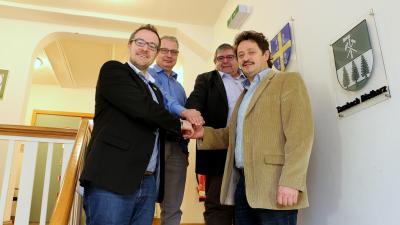 """Mit dem IKZ-Antrag beantragen die 4 Kommunen insgesamt 100.000 Euro vom Land für die interkommunale Zusammenarbeit im Bereich """"Gesundheitswesen""""."""