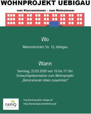 Flyer in Zusammenarbeit mit der TU Dresden