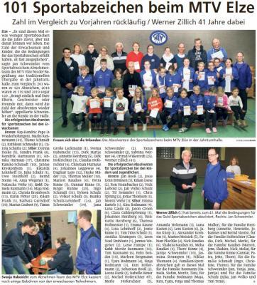 Auszug aus der Leine-Deister-Zeitung vom 10.02.2020