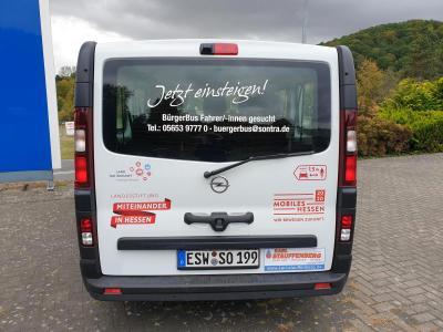 Der Bürgerbus der Stadt Sontra verbessert die Mobilität und die Anbindung der Stadtteile an die Kernstadt.