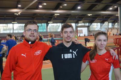 Lucas Hemkes, Luca Müller, Tamika Vomberg