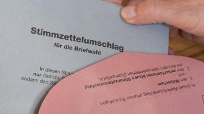 Bild Briefwahlunterlagen