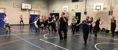 Vorschaubild zur Meldung: 2. Workshop: Rudis glückliche ChaCha-Tänzer