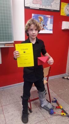 Foto zur Meldung: Vorlesewettbewerb der 6. Klassen: Nicolas Kraft (6c) ist der Schulsieger!