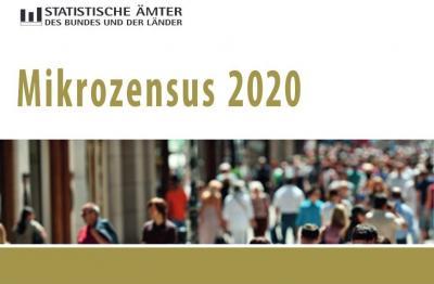 Vorschaubild zur Meldung: Amtliche Haushaltsbefragung - Mikrozensus 2020