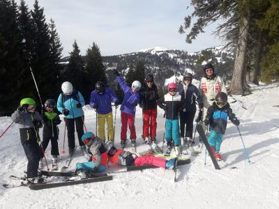 Gruppenbild Skiausfahrt Balderschwang