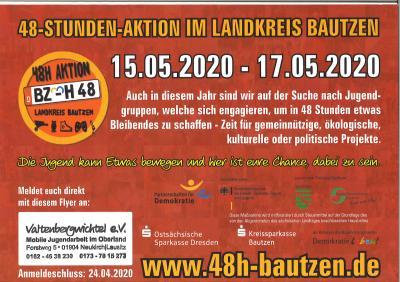 Foto zu Meldung: 48-STUNDEN-AKTION IM LANDKREIS BAUTZEN