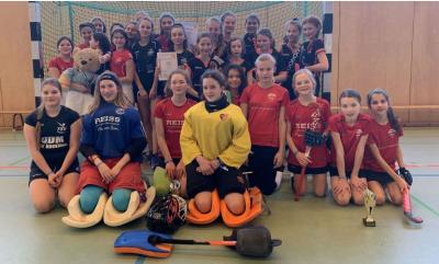 Foto zur Meldung: PSU-Mädchen B beim OHV-Pokal Halle