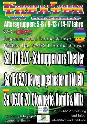 Vorschaubild zur Meldung: Theaterworkshops für Kinder und Jugendliche in Emmelshausen