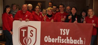 Bild1 im Vordergrund Vlnr: Jana Telzer, Erich Kray, Nora Otterbach, Stefanie Wagener, Lars Gieseler, Betty Bach, Sarah Loos