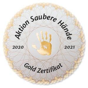 Vorschaubild zur Meldung: Saubere Hände sind Gold wert