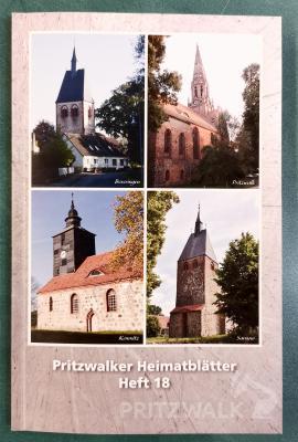 Das Heft 18 der Pritzwalker Heimatblätter ist unter anderem in der Museumsfabrik Pritzwalk erhältlich. Foto: Beate Vogel