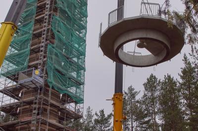 Foto zur Meldung: Der neue Aussichtsturm braucht einen Namen