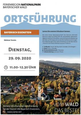 Plakat Ortsführung