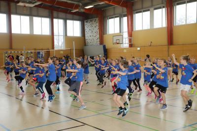 Foto zur Meldung: Talentiade in Lehnin zeigt vielfältige Sportmöglichkeiten