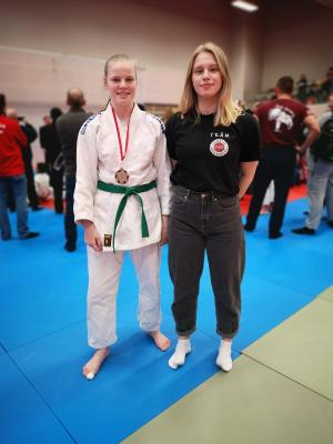 Foto zur Meldung: 15.02.2020 | Maja holt Bronze bei der NODEM