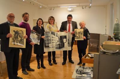 Foto zur Meldung: Fotografischer Nachlass von Gert Bielefeld ans Stadt- und Regionalmuseum gespendet