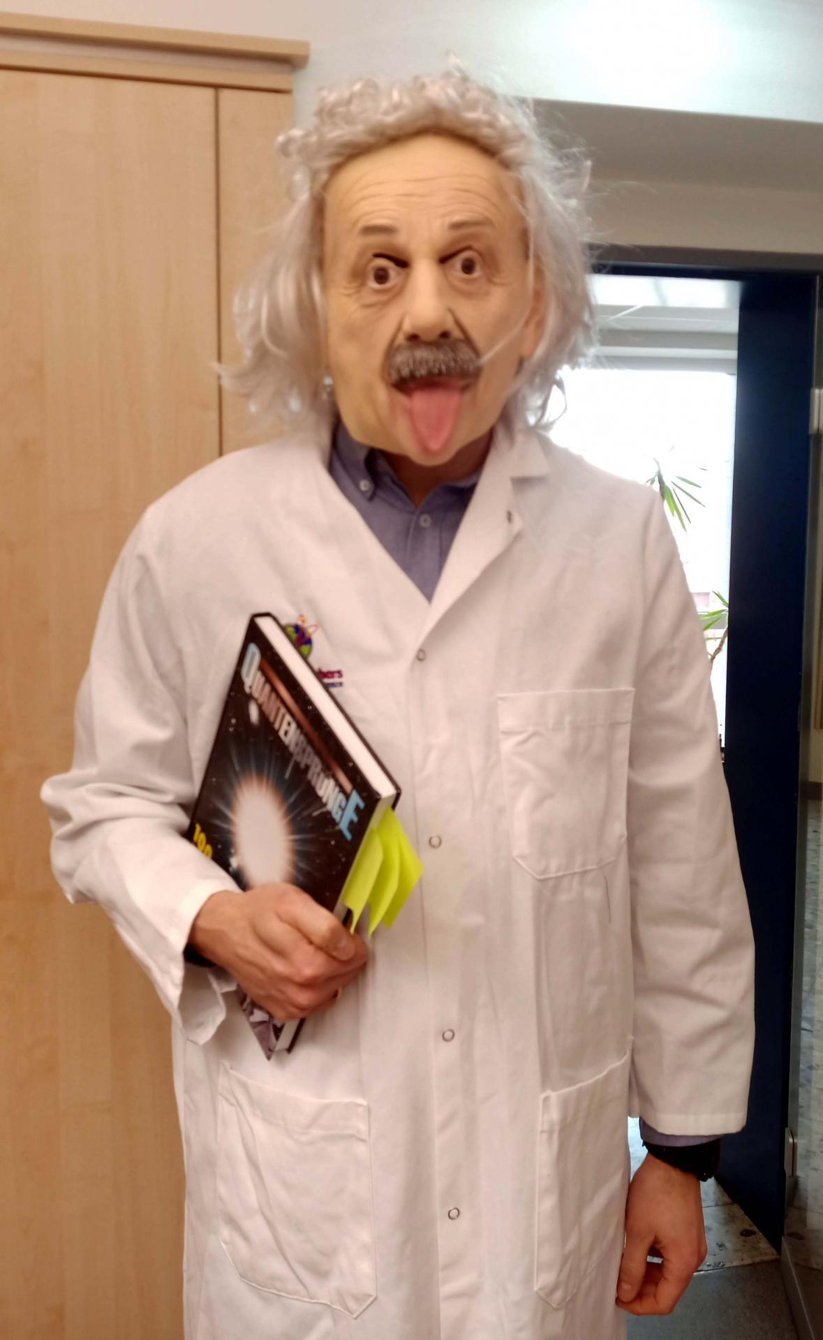 Bild der Meldung: Albert Einstein an der Anne-Frank-Realschule