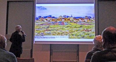 Vortrag von Herrn Dr. Wolfgang Grittner (Foto: E. Gruber)