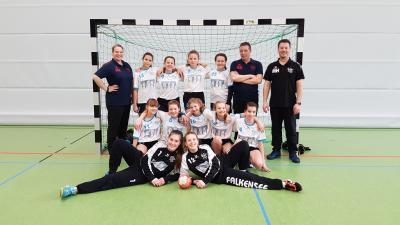 Foto zur Meldung: 1.wD-Jugend aus Falkensee weiter ungeschlagen.